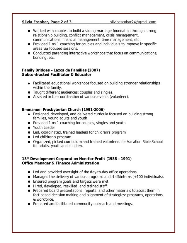 Attractive Conam Property Management Resume Gift - Administrative ...