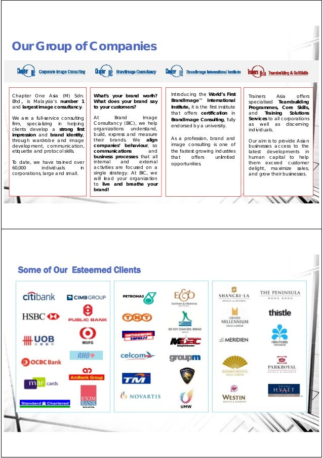 Chapter One Asia_Group Corporate Profile 2015 Slide 2