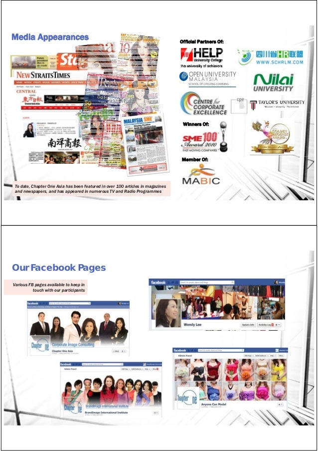 Chapter One Asia_Group Corporate Profile 2015 Slide 3