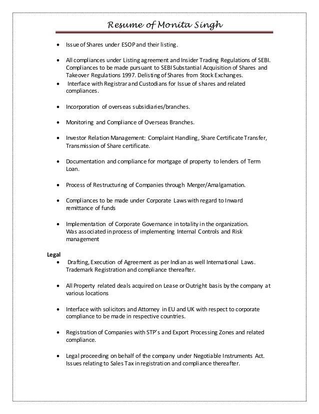 monita singh -resume November 2014