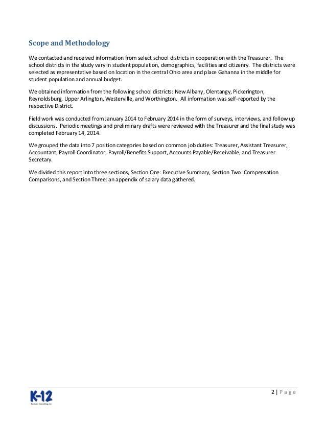Gahanna Jefferosn Treasurer Office Salary Study – Treasurer Job Description