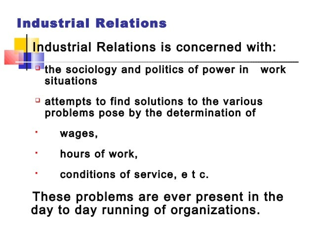 the industrial relation system in japan Industrial and organizational psychology focuses on scientifically-based solutions to human problems in work and other organizational settings.