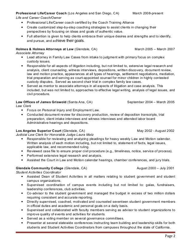 slp resume all encompassing