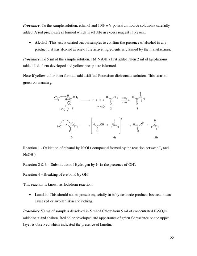 potassium iodide solution coloring pages   Industrial training Report