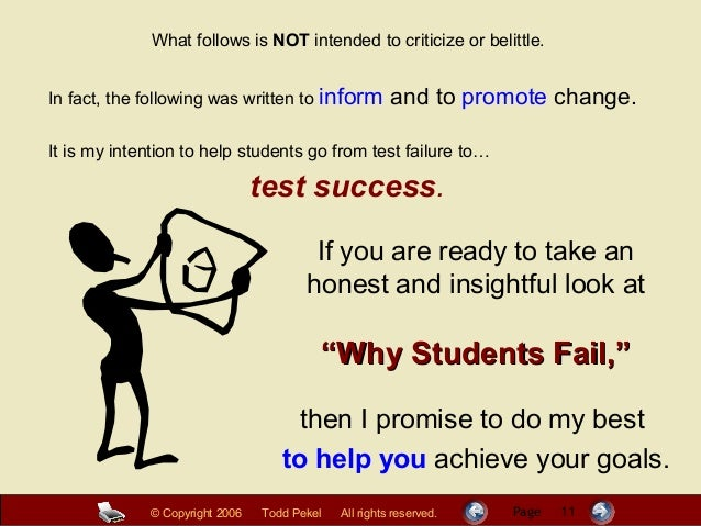 essay on why students fail Why writing curriculums fail and how to  after all the effort your students do to write and re-write an essay,  (and how to make sure your homeschooler doesn't.