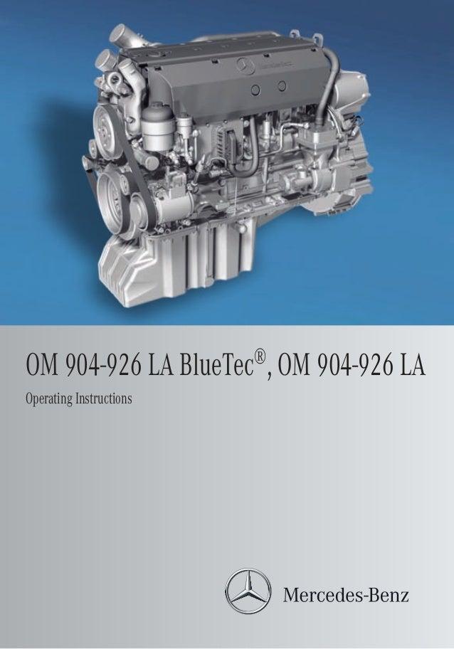 mb om 926 la rh slideshare net Mercedes-Benz Manual Book 2006 Mercedes-Benz ML500 Manual Book