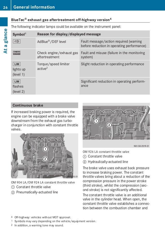 mb om 926 la rh slideshare net Customer Training Manual Training Manual Templates Microsoft Word