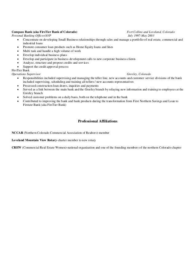 bank com compass resume