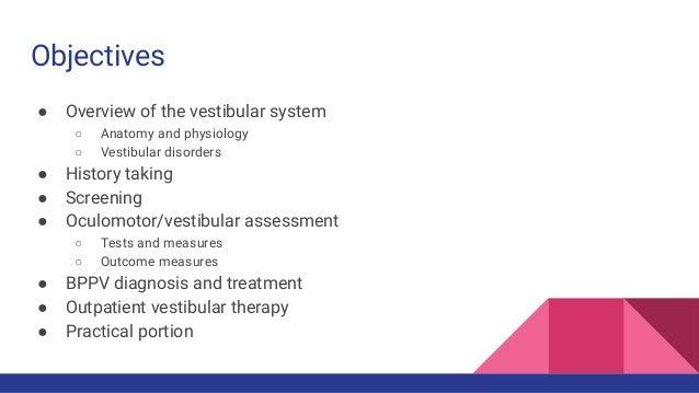 Vestibular Presentation