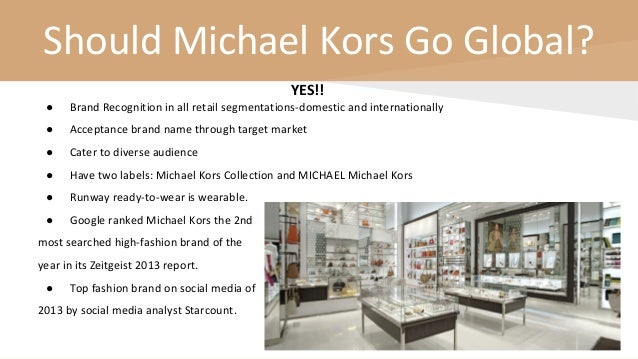 Michael Kors Presentation