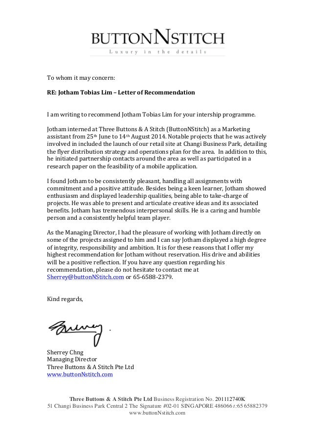 Recommendation Letter For Business Plan  Ghost Writer Paper