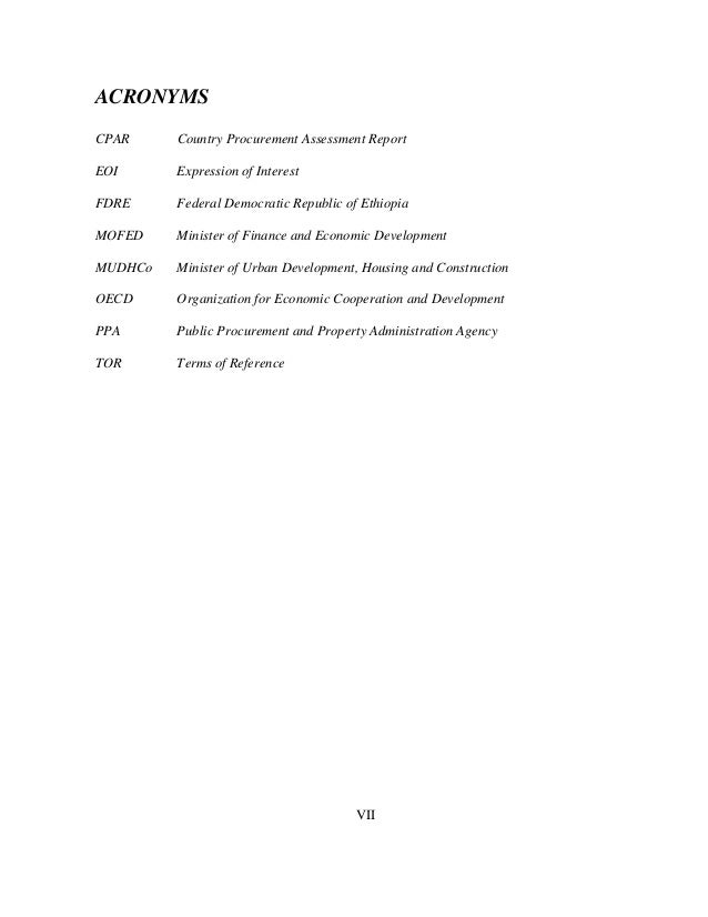 Assessment of Procurement Plan & Implementaion Practice