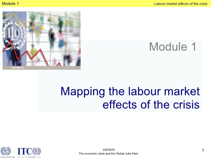 Module 1   Mapping the labour market effects of the crisis