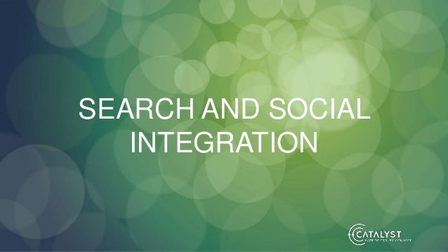 SEARCH AND SOCIAL INTEGRATION