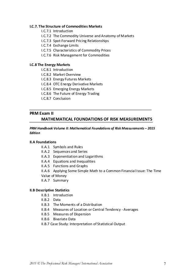 Prm Handbook Pdf