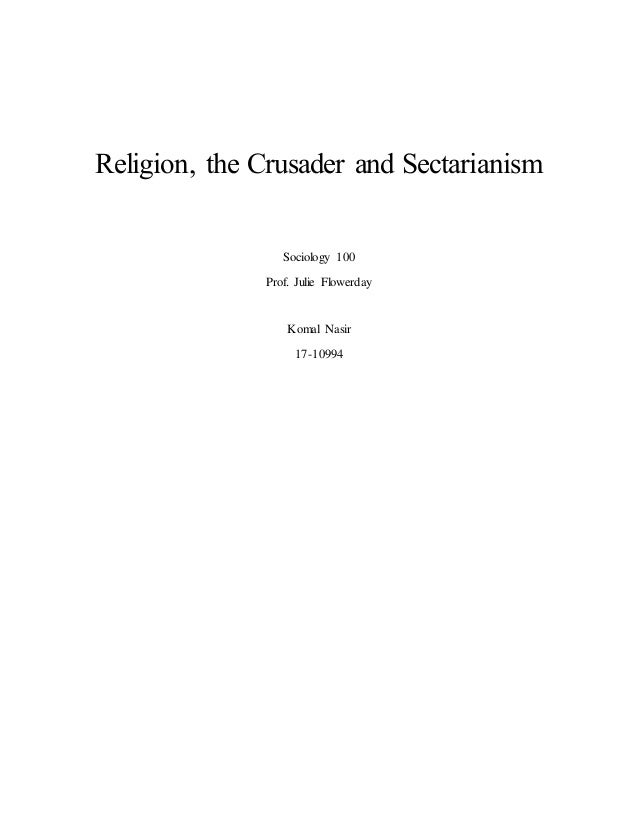 3809 term paper on religion