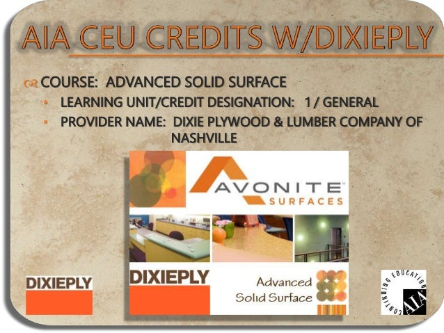 COURSE: ADA FOR THE DECORATIVE SURFACING INDUSTRY • LEARNING UNIT/CREDIT DESIGNATION: 1 / HSW • PROVIDER NAME: INTERNATI...