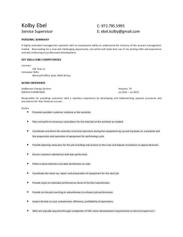 Updated 7.31.15] Kolby Ebel - Resume