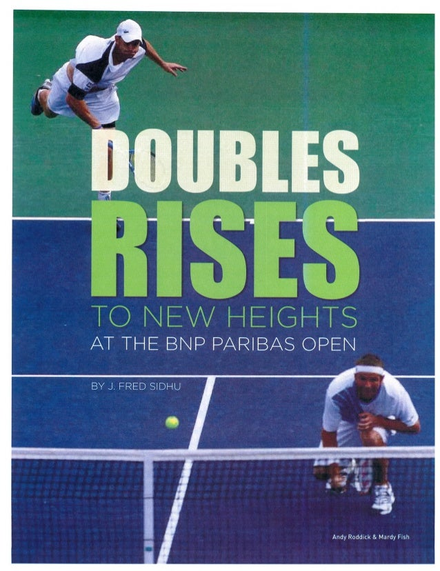 2016 Doubles Article