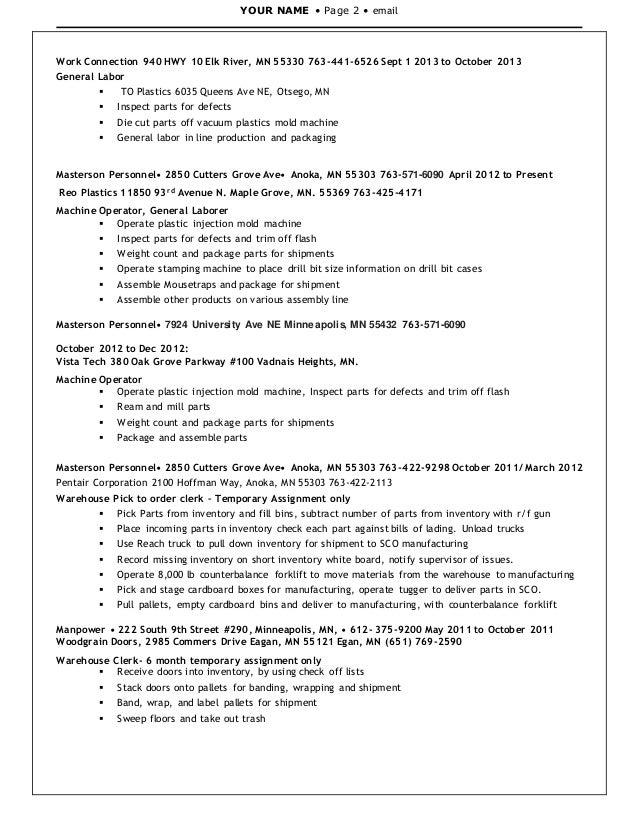 WDM Resume 2014 2