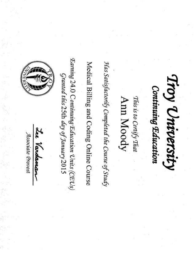 Medical Billing and Coding Certificate