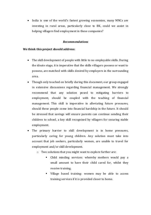 Handover Document