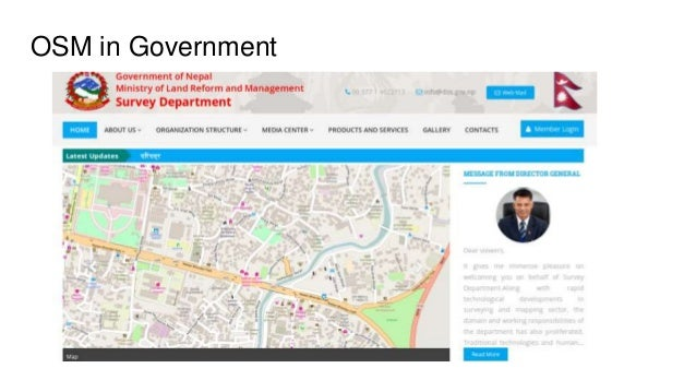 OSM in Government