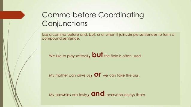 coordinating-conjunctions