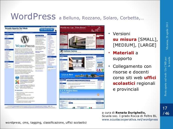 WordPress  a Belluno, Rozzano, Solaro, Corbetta,… <ul><li>Versioni su misura  [SMALL], [MEDIUM], [LARGE] </li></ul><ul><li...