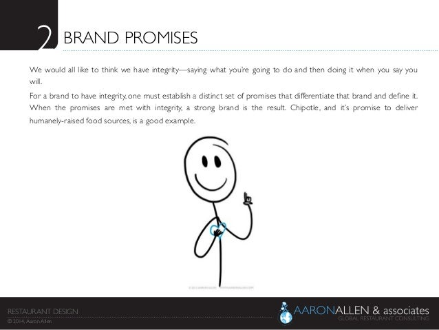 2  BRAND PROMISES  We would all like to think we have integrity—saying what you're going to do and then doing it when yo...