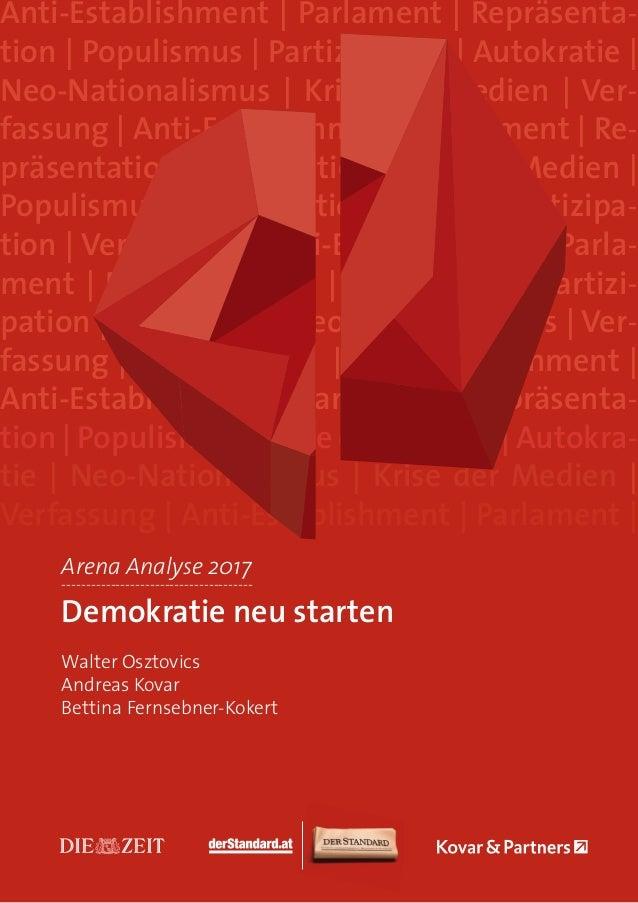 Anti-Establishment | Parlament | Repräsenta- tion | Populismus | Partizipation | Autokratie | Neo-Nationalismus | Krise de...