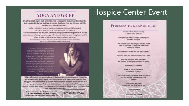 Hospice Center Event