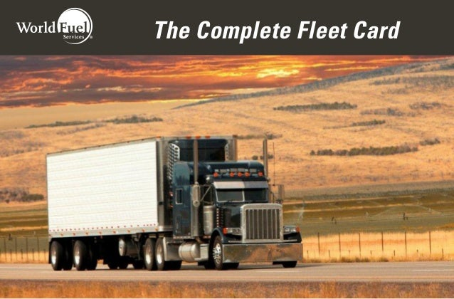 The Complete Fleet Card