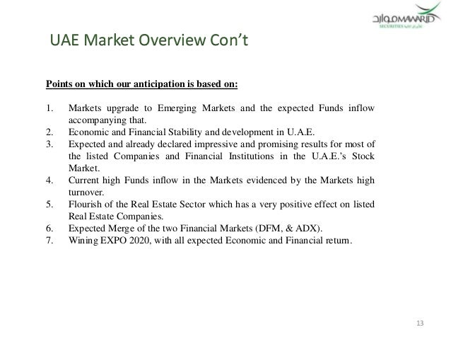 uae market overview 12 13 - Real Estate Profile Summary