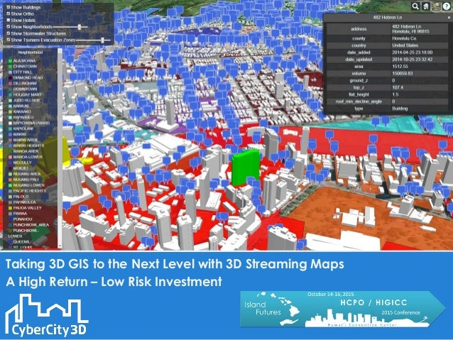 Taking 3D to the next Level with 3D Streaming Maps