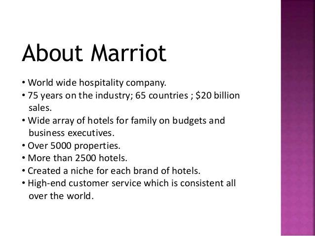 marriott globalisation