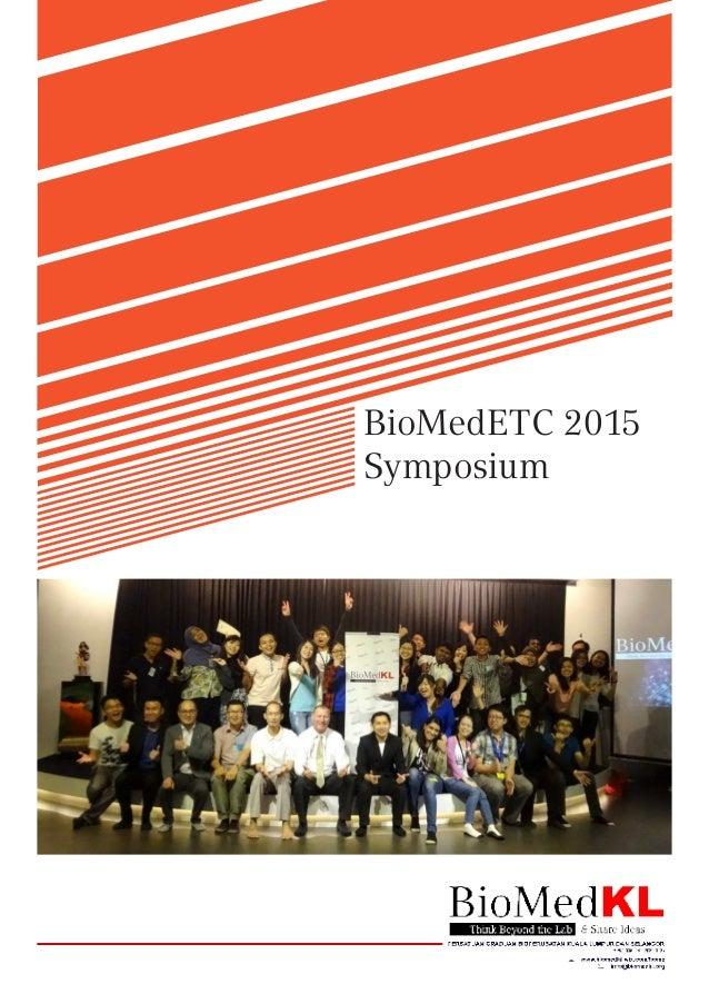 BioMedETC 2015 Symposium