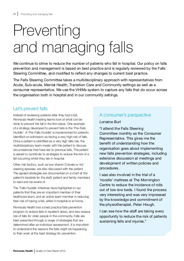 patient falls risk essay Inpatient falls in the elderly health and social care essay patient falls occur the important risk factors of inpatient falls and see if they can.