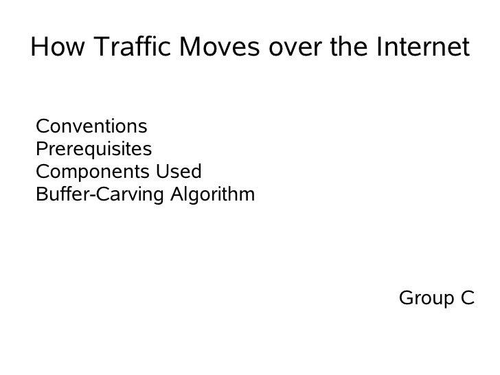 How Traffic Moves over the Internet  Conventions Prerequisites Components Used Buffer-Carving Algorithm                   ...