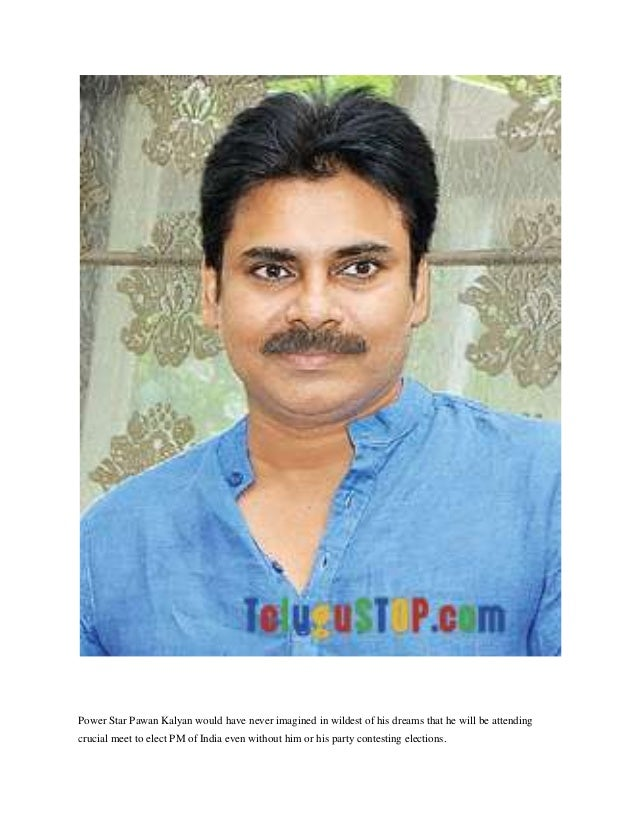 Power Star Pawan Kalyan would have never imagined in wildest of his dreams that he will be attending crucial meet to elect...