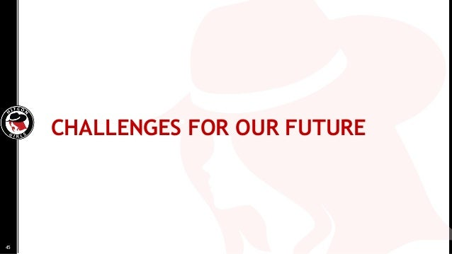 CHALLENGES FOR OUR FUTURE 45