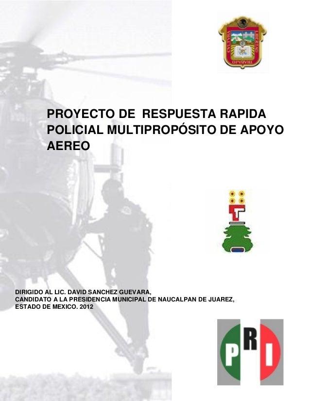 Proyecto helic ptero municipal de naucalpan for Proyecto de vivero municipal