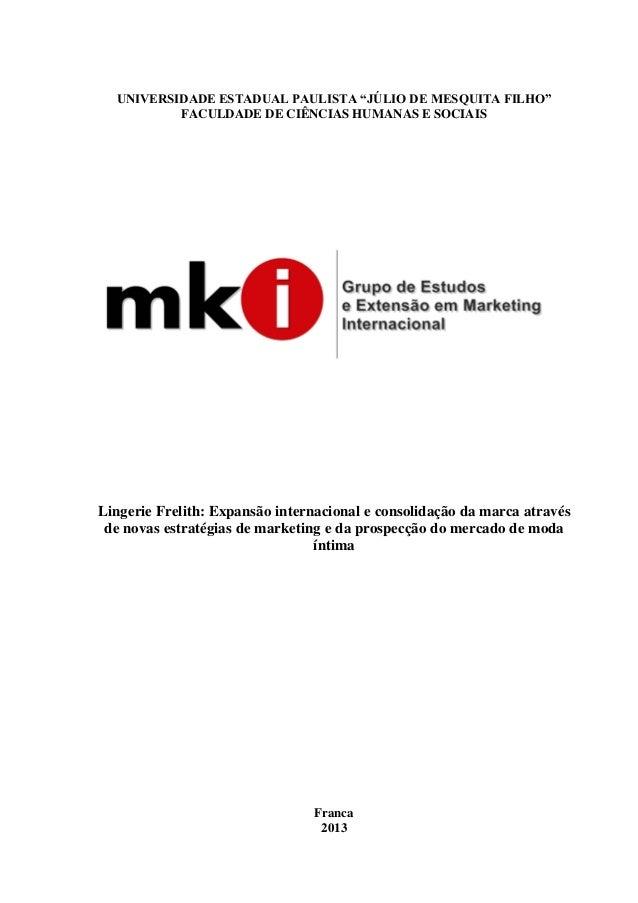 """7d3e6fb45 UNIVERSIDADE ESTADUAL PAULISTA """"JÚLIO DE MESQUITA FILHO"""" FACULDADE DE  CIÊNCIAS HUMANAS E SOCIAIS Lingerie ..."""