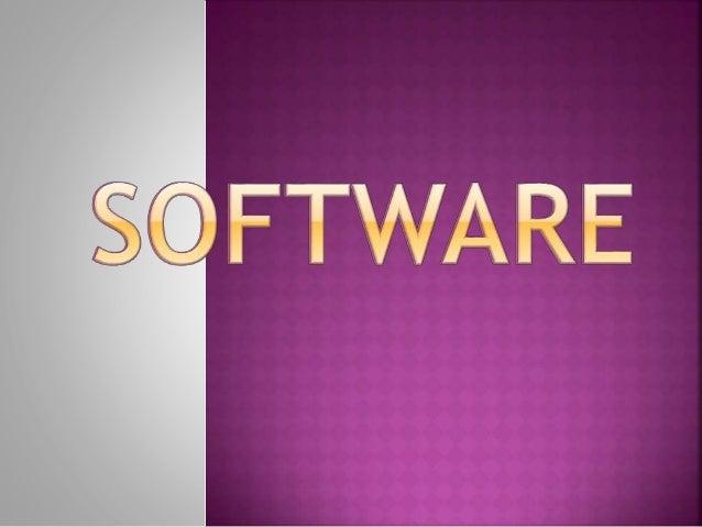Podemos encontrar distintos tipos de software, hay desde una clasificación básica hasta una avanzada, por el momento verem...