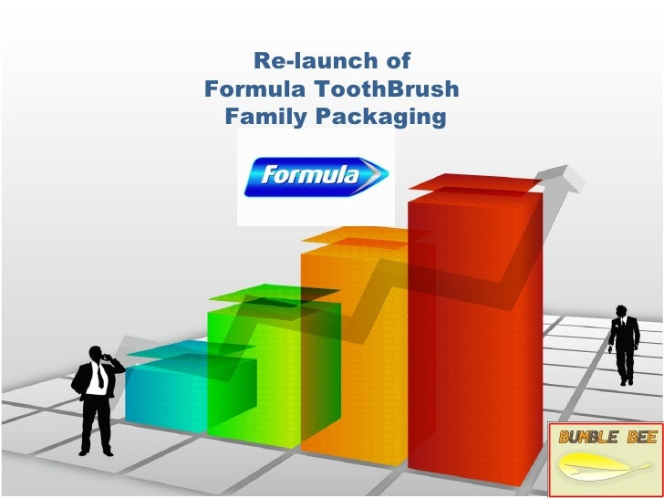 Re-launch ofFormula ToothBrush Family Packaging