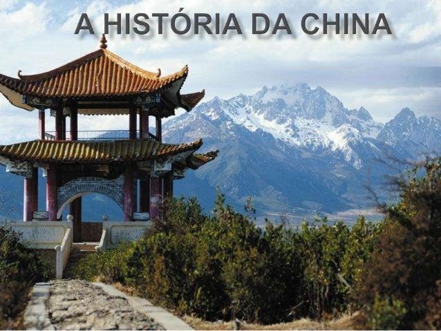  Os estudiosos entendem que a civilização chinesa surgiu em cidades-estados no vale do rio Amarelo. O ano 221 a.C. costum...