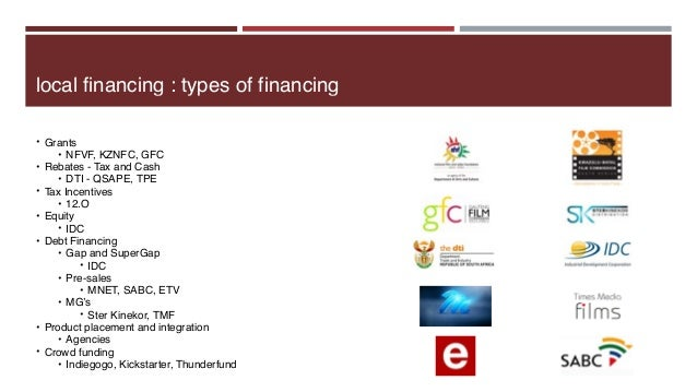 AAA Film and TV Financing Workshop for GFC