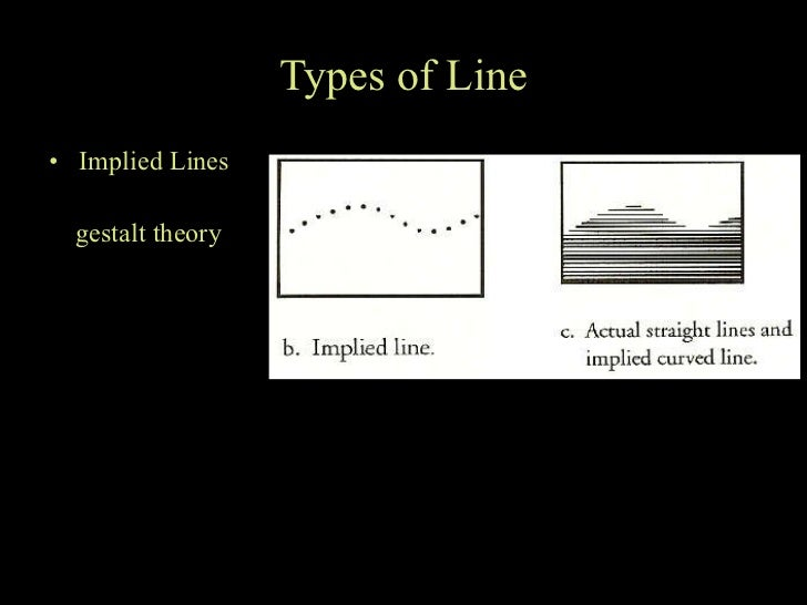 Implied Lines In Art : What is art and the visual elements