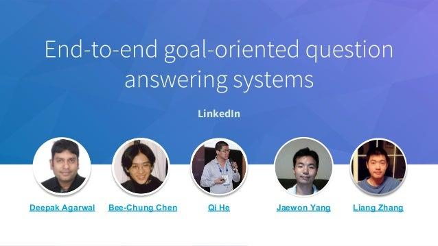 LinkedIn Deepak Agarwal Bee-Chung Chen Qi He Jaewon Yang Liang Zhang