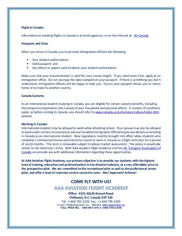 Aaa aviation flight academy information and opportunities as